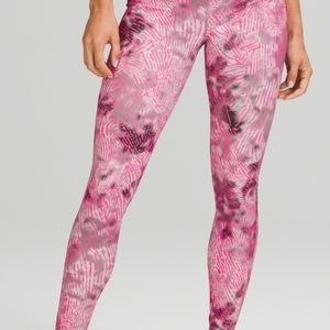 Swift speed high rise tights seawheeze edition